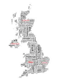 Sheffield England Map by England United Kingdom Map Typography Map Poster Print Text