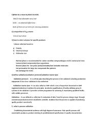 qa u0026 qc interview questions gas chromatography water vapor