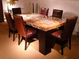 natural wood dining room tables dinning stone dining table dark wood dining table tall kitchen