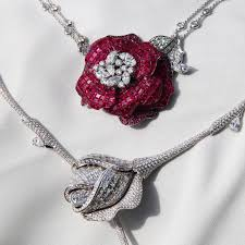 diamond necklace red images Snow white diamond necklace stenzhorn the jewellery editor jpg
