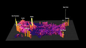 Zillow Value Map This 3d Map Shows America U0027s Most Expensive Housing Markets Metrocosm