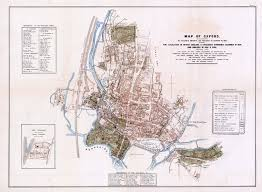 Map Of Oxford England by Medicine