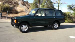 range rover lifted 1995 range rover county lwb classic video vogue 2 owner 77k mile
