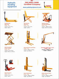 material handling u0026 industrial lift patelequipmentnaroda patelequipmentnaroda