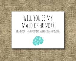 asking bridesmaids cards asking bridesmaids cards will you be my of honor ask