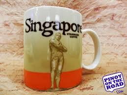 mugs design starbucks singapore orange raffles icon mug starbucks icon mugs