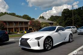 lexus lf lc black lexus lc 500 23 july 2017 autogespot