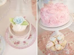 kara u0027s party ideas shabby chic pink tea party baby shower