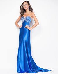 blue satin prom dresses long dresses online
