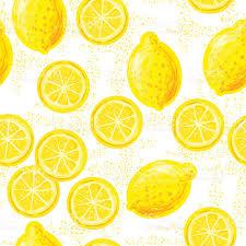 seamless lemon pattern seamless pattern with lemons stock vector art more images of 2015