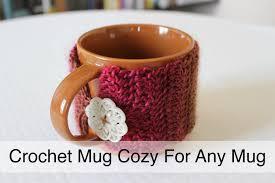 Best Coffee Mug Warmer Crochet Mug Warmer Cozy Tutorial For Any Mug Sewrella Youtube