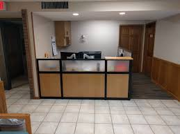 Circular Reception Desk by Reception Desk Gallery Desq We Create Space Minnesota