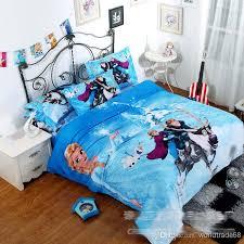 Frozen Comforter Set Full Frozen Bedding Quilt Cover Pillow Case Bed Set Linen Bedding Set