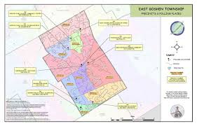 Chester Pa Map Voting Districts U2013 East Goshen Township