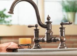 moen rubbed bronze kitchen faucet moen s664orb traditional pot filler two handle kitchen faucet