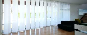 Sliding Panel Curtains Sliding Panel Curtains For Glass Doors House Curtain Panels