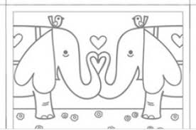 elephant love coloring page 100 ideas valentine card coloring sheets on spectaxmasb download