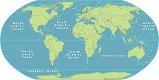 map world seas marine regions and world map with seas besttabletfor me
