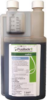 fusilade ii turf and ornamental herbicide 1 quart seed world