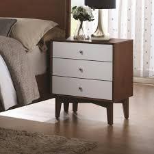 nightstand mesmerizing bedside tables dark wood brown table grey
