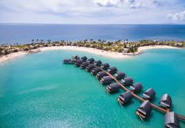 Tiki Hut On Water Vacation Overwater Bungalows In The South Pacific Water Villa Resorts In