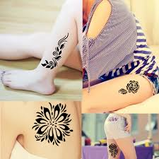 1 henna stencil gift box socks tree