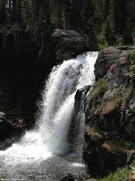Wyoming waterfalls images Moose falls jpg