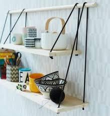 Reclaimed Wood Shelf Diy by Swing Shelf Reclaimed Wood Shelf Wood And Leather Urban