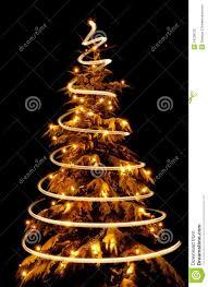 tree with lights extraordinary photo
