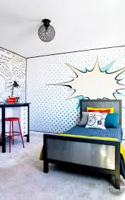 Kids Bedroom Makeovers - pop art bedroom make over reveal paint yourself a smile