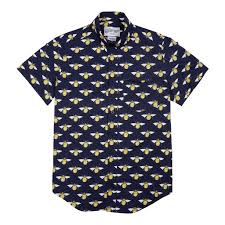 bee print short sleeves u2013 gfw clothing