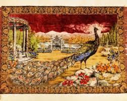 Gypsy Home Decor Peacock Tapestry Etsy