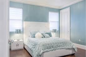 Light Blue Bedroom Colors 22 by Shiny Blue And White Bedrooms 22 As Well As House Decoration With