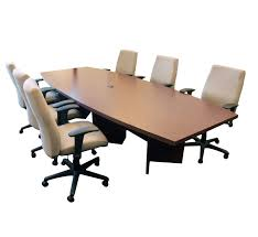 Detachable Conference Table Pre Owned Sustainable Office Solutions
