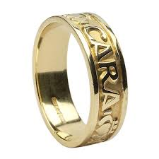 mo anam cara 10k yellow gold mo anam cara my soul mate men s celtic wedding