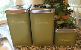 vintage kitchen canisters kitchen canisters