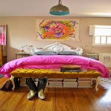 decorate your bedroom in an eclectic style