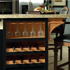 how to build island for kitchen wine rack target threshold kitchen island with wine rack by