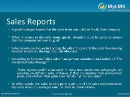 sales team report template sales reports every sales manager should be reviewing