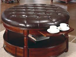 Using An Ottoman As A Coffee Table Family Room Best Tufted Ottoman Coffee Table In Family Room Hi Res