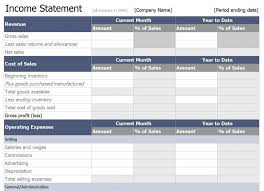 Financial Statements Templates For Excel Personal Financial Statement Forms Free Personal