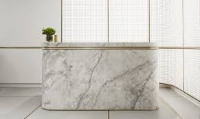 Marble Reception Desk Elegant Minimal Marble Gold Reception Desk Landream Office