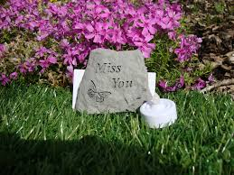 miss you memorial grave ornament memorial gifts uk special