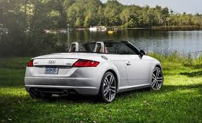 convertible audi 2016 2016 audi tt roadster test review car and driver