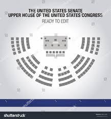 us senate floor plan house plan united states senate upper house united stock vector