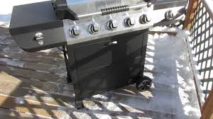 Brinkmann 2 Burner Gas Grill Review by Brinkmann 5 Burner Propane Gas Grill Model 810 2511 S Youtube