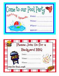 bbq birthday party invitations alanarasbach com