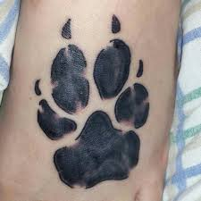 cute dog paw print tattoos tattoos book