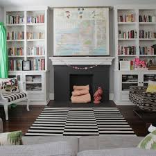 Bookcase Fireplace Designs 25 Best Bookcases Around Fireplace Images On Pinterest Fireplace