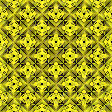 seamless geometric pattern with stylized hearts repeating vintage